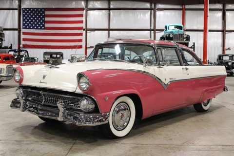 1955 Ford Crown Victoria Pink Coupe for sale