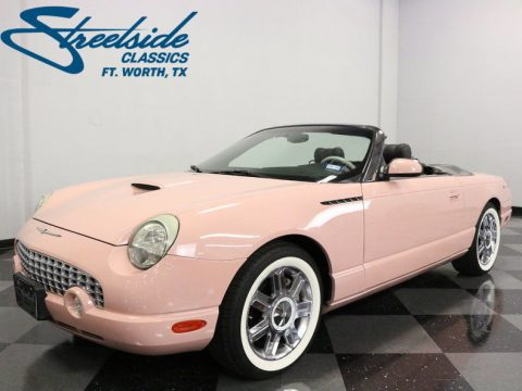 2002 Ford Thunderbird 1 of 12 Dusk Rose T-Birds for sale