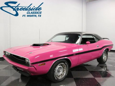 Bright Panther Pink 1970 Dodge Challenger RT/SE 440 Six Pack Tribute for sale