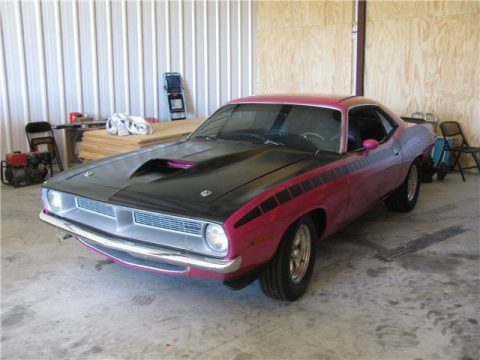 Panther Pink 1970 Plymouth Barracuda for sale