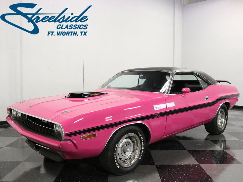 Awesome 1970 Dodge Challenger Rt/se 440 Six Pack Tribute