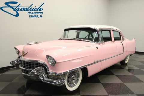 NICE 1955 Cadillac Series 62 Sedan for sale