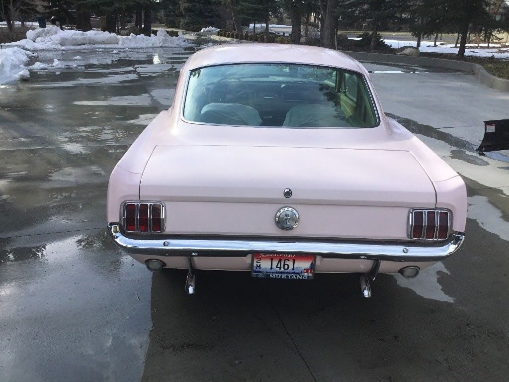 VERY RARE 1966 Ford Mustang Fastback for sale