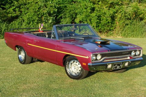 Rare & Desirable 1970 Plymouth Road Runner Convertible for sale