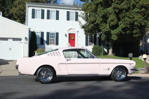 1966 Ford Mustang 2+2 Original Pink Fastback 289 for sale
