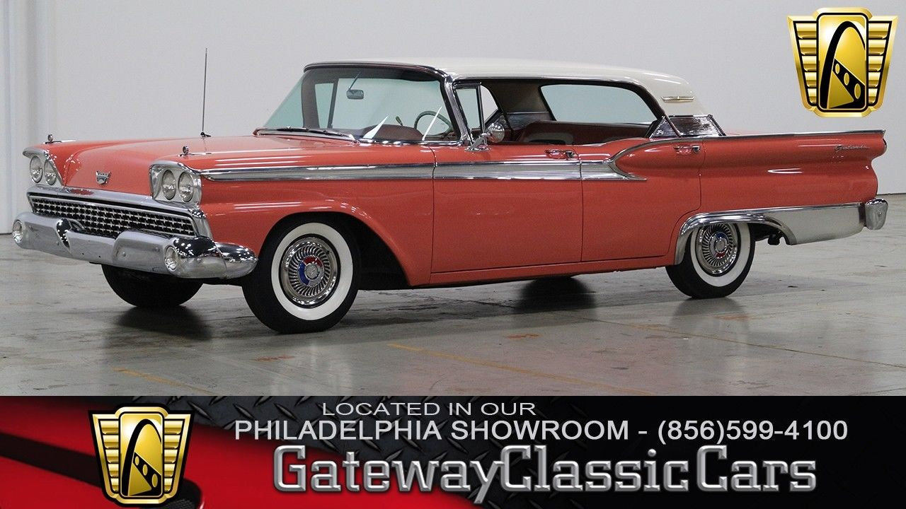1956 Ford Galaxie 500 Convertible