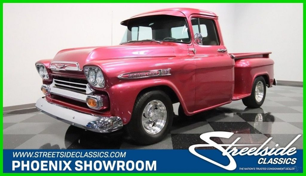 SUPERCHARGED 1959 Chevrolet Apache