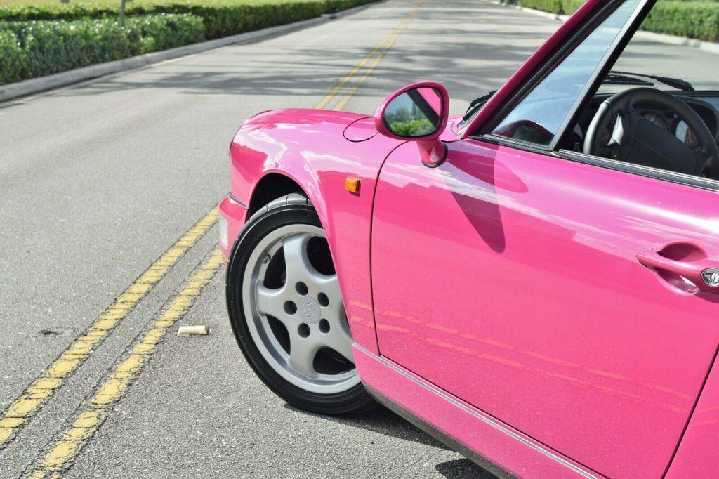 1990 Porsche 911 Carrera 2 964 Coupe Paint To Sample Karminrot